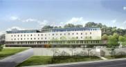 Conception-réalisation du Centre hospitalier de Rumilly Gabriel Déplante
