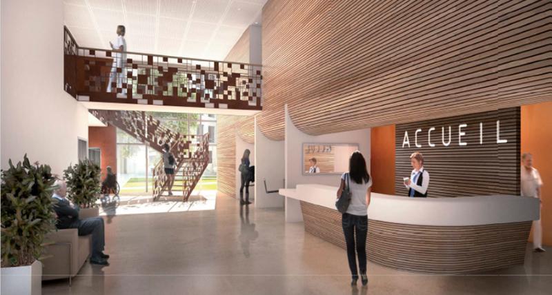 H pital de nyons tpfi for Architecture unite alzheimer