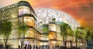 Construction du Centre commercial Le Prado Stade Vélodrome