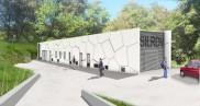 Construction d'une station de pompage d'eau potable