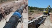 Renouvellement d'une conduite d'adduction d'eau potable DN 800 mm