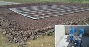 Construction d'une station d'épuration 1 500 EH