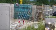 Construction d'une station d'épuration 5 800 EH