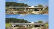 Reconstruction du pont de la RD 10 sur la Florieye