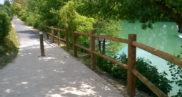 Aménagement d'itinéraires cyclables et voies vertes