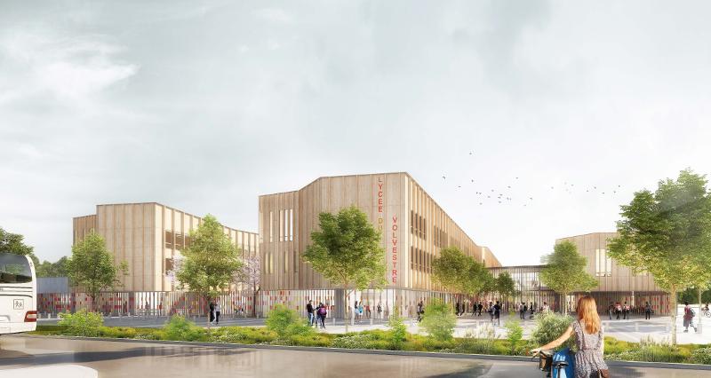 Nouveau lycée du Volvestre