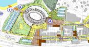 Aménagement urbain entrée ouest de Fréjus