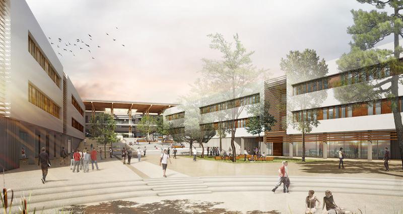 Construction du Lycée de Sommières