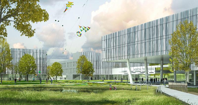 Construction du Nouvel Hôpital Trousseau
